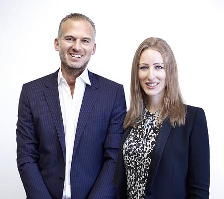 Ana Sattler und Michael Huy